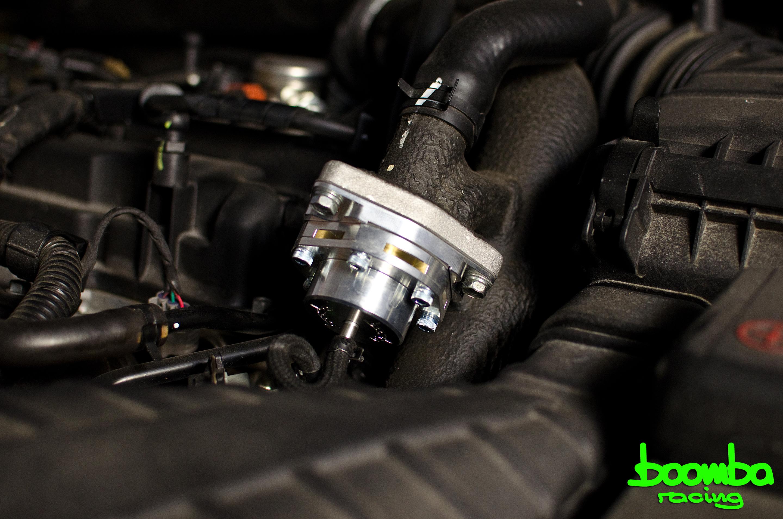 prototype blow  valve  kia optima boomba racing